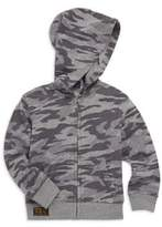 Ralph Lauren Boy's Camo-Print Full-Zip French Terry Hoodie