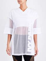 Ivy Park Oversized mesh top
