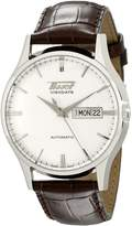 Tissot Men's TIST0194301603101 Heritage Visodate Analog Display Swiss Automatic Watch