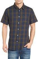 RVCA Men's Lament Plaid Woven Shirt