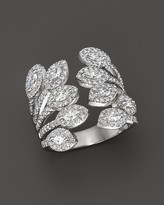 Bloomingdale's Diamond Statement Ring in 14K White Gold, 1.60 ct. t.w.