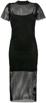 Ksubi Heart Break Hotel Fishnet Dress