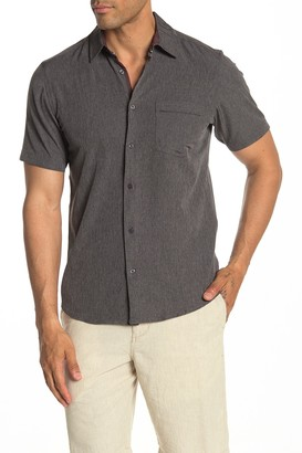 Burnside Solid Short Sleeve Regular Fit Shirt