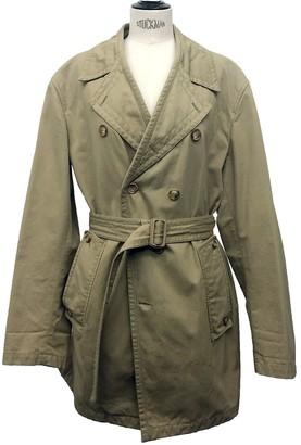 Miu Miu Ecru Cotton Trench Coat for Women