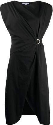 Patrizia Pepe D-ring buckle dress