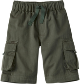 Hanna Andersson Deep Olive Keeper Cargo Shorts