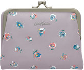 Cath Kidston Mallory Sprig Printed Leather Clasp Wallet
