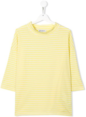 Dondup Kids TEEN striped print top