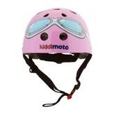 Kiddimoto Pink Goggle helmet