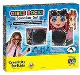 Creativity For Kids Girls Rock! Speaker Set