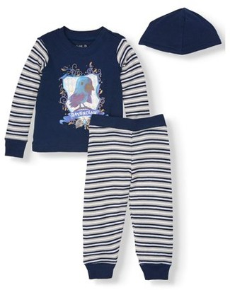 Harry Potter Baby & Toddler Girl, Boy, Unisex Long Sleeve Cotton Snug Fit Pajamas, 2Pc Set
