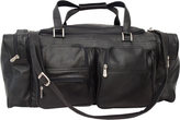 """Piel Leather 24"""" Duffel with Pockets"""
