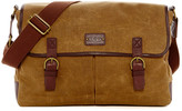 UGG Kolman Leather Trimmed Messenger