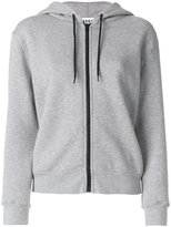MSGM zip-up hoodie - women - Cotton/Viscose - S