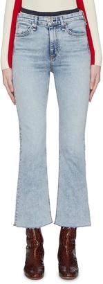 Rag & Bone 'Nina' flared jeans
