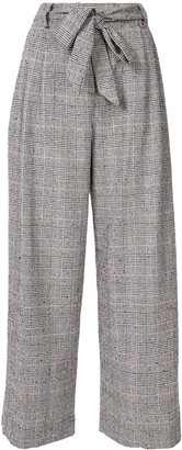 By Any Other Name Check Print Trousers