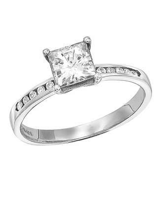Marisota Moissanite 9 Carat Gold 1.15 Carat Ring