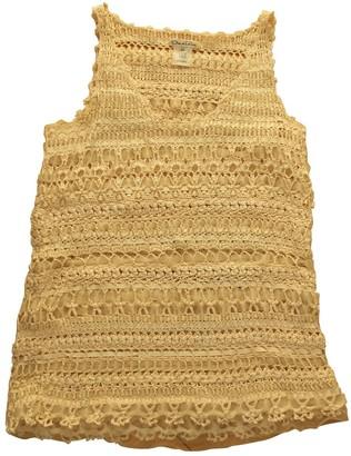 Oscar de la Renta White Silk Top for Women Vintage