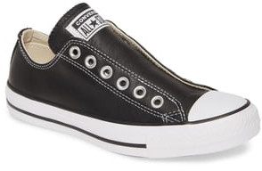 Converse Chuck Taylor® All Star® Laceless Leather Low Top Sneaker