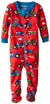 Hatley Farm Tractors Footed Coverall (Infant)