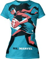 Marvel Michael Cho Comic Book Illustrator Ms. Juniors Tunic Dress Shirt