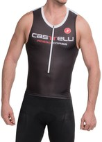 Castelli Body Paint 2 Tri Top - Zip Neck, Sleeveless (For Men)