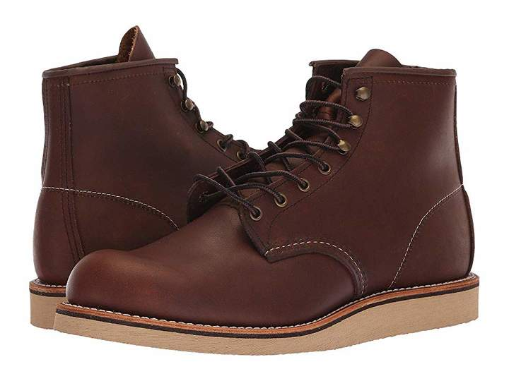 Red Wing Shoes 6 Rover Round Toe