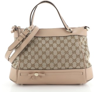 Gucci Mayfair Convertible Tote GG Canvas Small