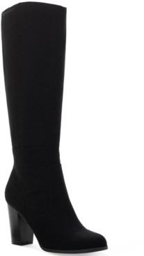 Style&Co. Style & Co Addyy Wide-Calf Dress Boots, Created for Macy's Women's Shoes