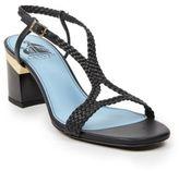 Lanvin Braided Leather Sandals