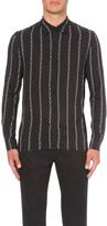Sandro Chain-print woven shirt