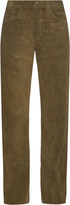 Simon Miller Bowman wide-leg suede trousers