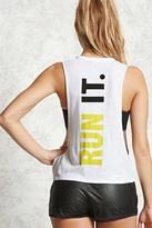 Forever 21 Active Run It Muscle Tee
