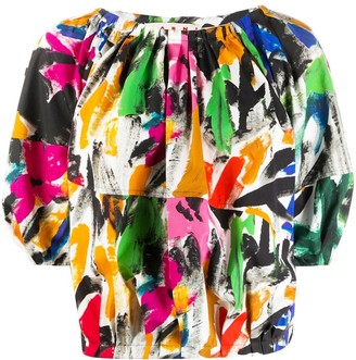 Marni Floral Print Shirt