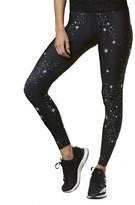 ULTRACOR - Women's Silk Celeste Print Leggings - Nero
