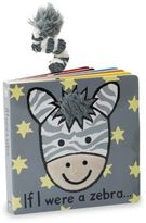 Jellycat Kid's If I Were A Zebra Book