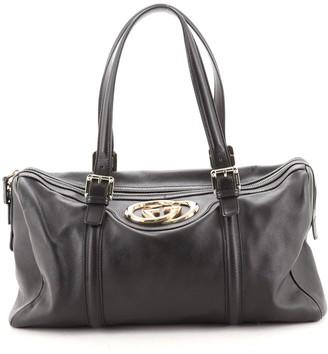 Gucci Britt Boston Duffle Bag Leather Large