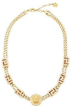 Versace Women's Greca Swarovski Crystal-Embellished Necklace