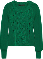 Marc by Marc Jacobs Uma cable-knit merino wool sweater