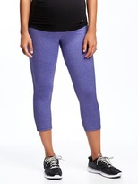 Old Navy Go-Dry Cool Maternity Full-Panel Compression Crops