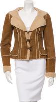 Chanel Shearling Toggle Jacket