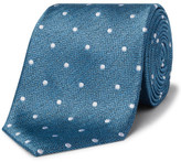 David Jones Herringbone Spot Tie