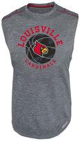 Knights Apparel Men's Louisville Cardinals Net Worth Sleeveless T-Shirt