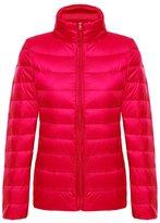 KORAMAN Women Compact Sportswear Ultralight Packable Puffer Down Jacket XL