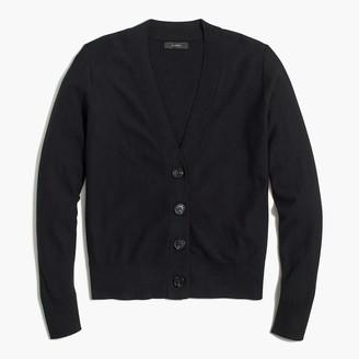 J.Crew V-neck cotton cardigan sweater