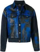 Calvin Klein Sandra Brant denim jacket