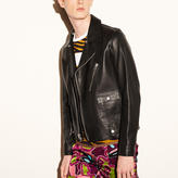 Coach 1941 Leather Motorcycle Jacket