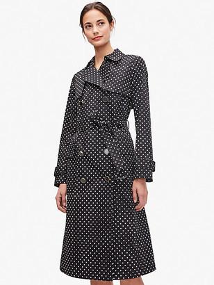 Kate Spade Dot Trench Coat