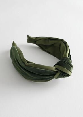 And other stories Velvet Knot Alice Headband