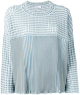 Sonia Rykiel ribbed jumper - women - Cotton/Viscose - M